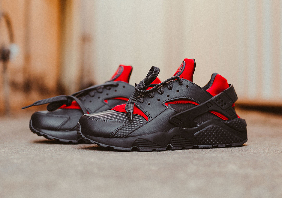 Nike Gym Air Black Huarache Red NnvOm80w