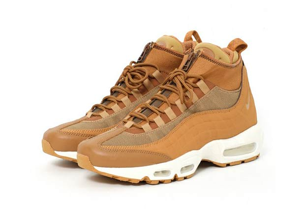 nike air max 95 sneakerboots flax