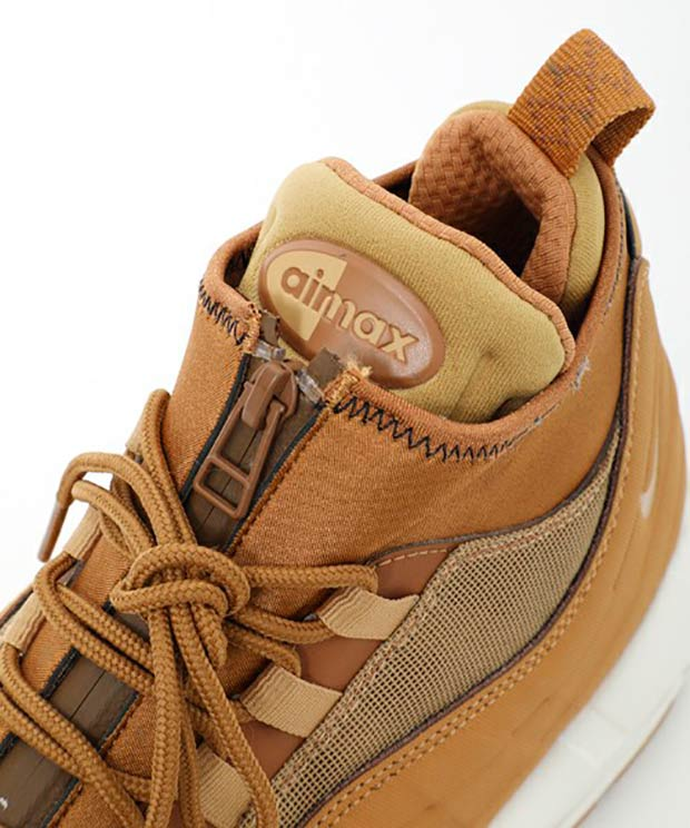 half off 3d9fb 70bdf Nike Air Max 95 Sneakerboot Flax 806809-201 | SneakerNews.com
