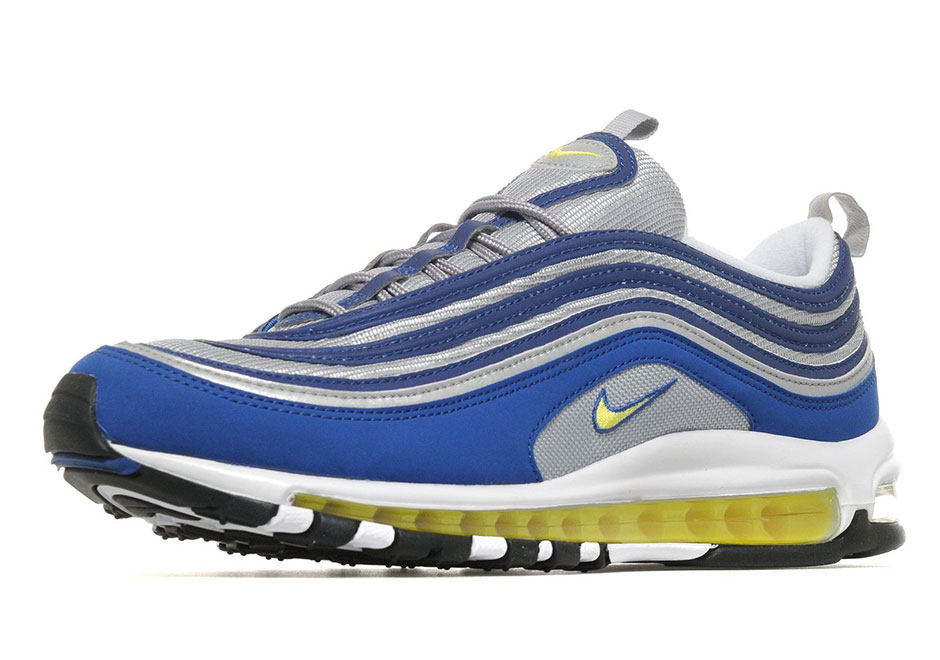 purchase cheap 9e043 ec207 Nike Air Max 97 Royal Neon Available at JD Sports ...