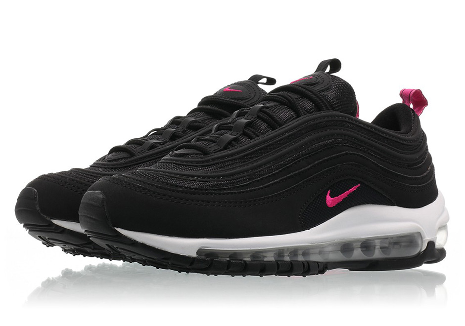 644d21939bc ... PrimeWhite Shoes  Nike Air Max 97 GS Color BlackPink Prime-White Style  Code 921523-001.