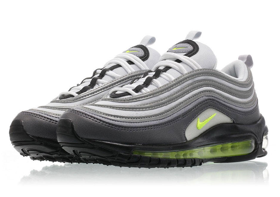 The Nike Air Max 97 borrows an iconic colorway from one of its brethren in  the Air Max family f9e9de597863