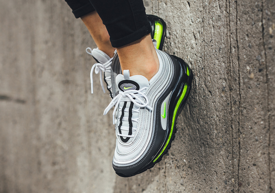 pretty nice deabf 63e3c Nike WMNS Air Max 97 160. Color Dark GreyVolt-Stealth-Pure Platinum  Style Code 921733-003