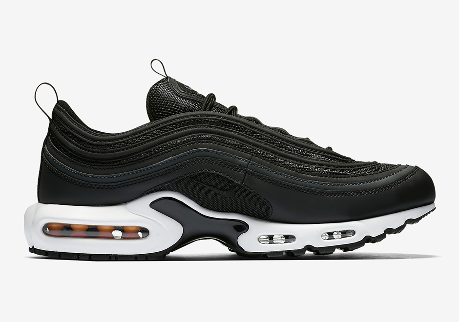 NikeLab Air Max 97 Plus Release Date: November 21, 2017 $175. Color:  Black/White