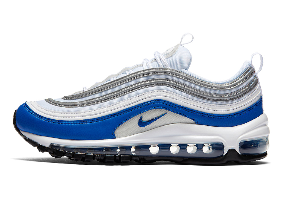 """cheaper 17885 9ee55 The Nike Air Max 97 Is Releasing In The Air Max 1s Original """"Royal"""""""