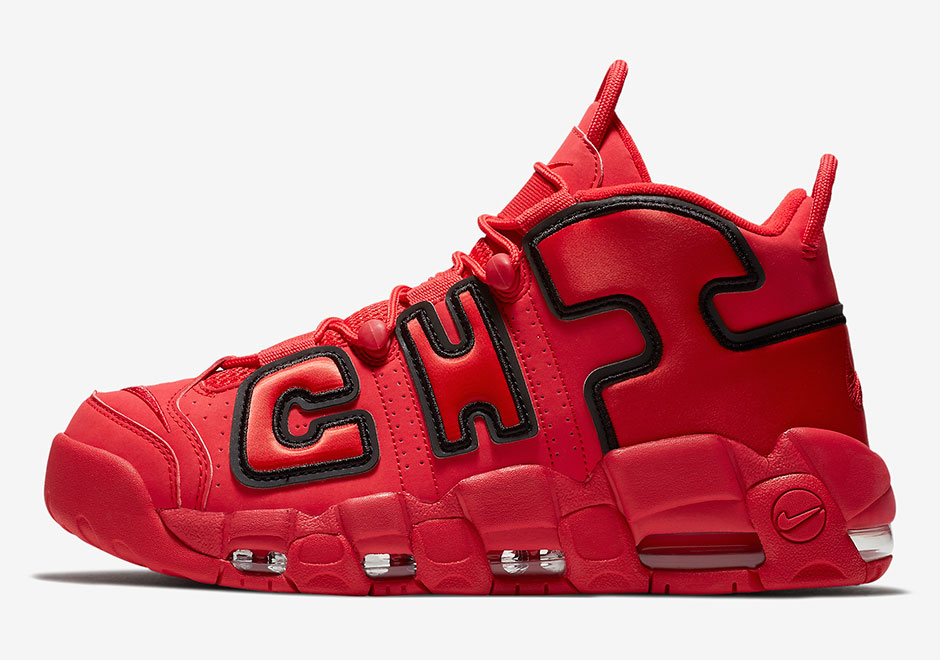 The History of the Nike Basketball Uptempo Line