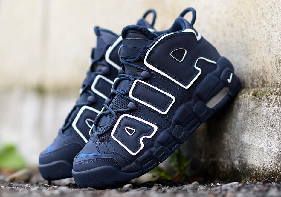 f9d58ba4031 Nike Air More Uptempo GS Navy Release Date 415082-401