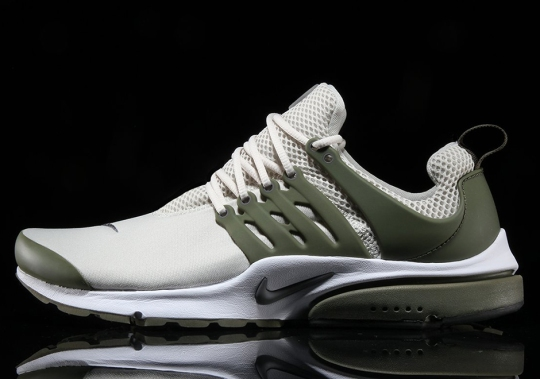 The Nike Air Presto Arrives In New Light Bone and Olive Colorway