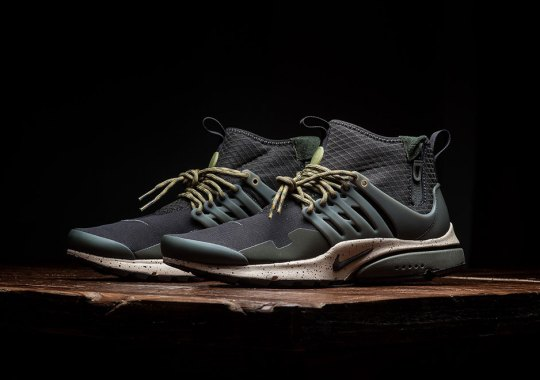 Nike Latest Wave Of Presto Mid Utility Colorways Is Now Available