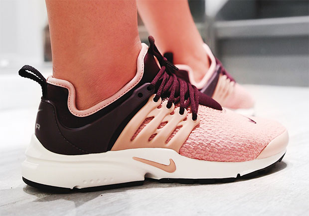 This New Nike Air Presto Pairs Port Wine With Particle Pink