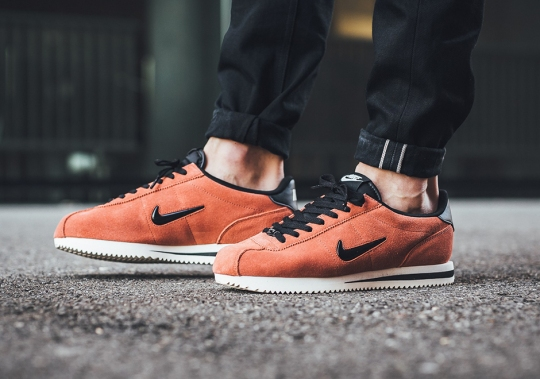 The Nike Cortez Jewel Arrives In Suede With Salmon and Olive Colors For Fall