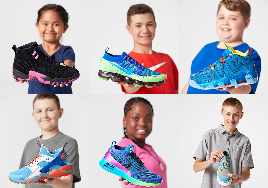a0608db2cce Nike Doernbecher Freestyle XIV Collection Includes Air More Uptempo, Air  Jordan 12, And More