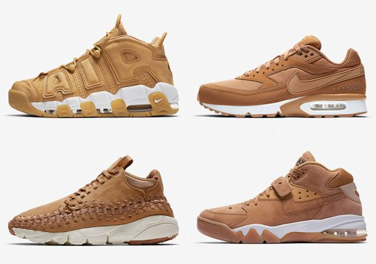 "Nike Is Releasing An Endless Collection Of ""Flax"" Footwear Next Week"