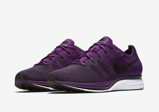 """Nike Announces Official Release Date For Flyknit Trainer """"Purple"""""""