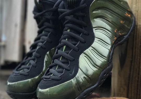 "Nike Air Foamposite One ""Legion Green"" Releasing On November 22nd"