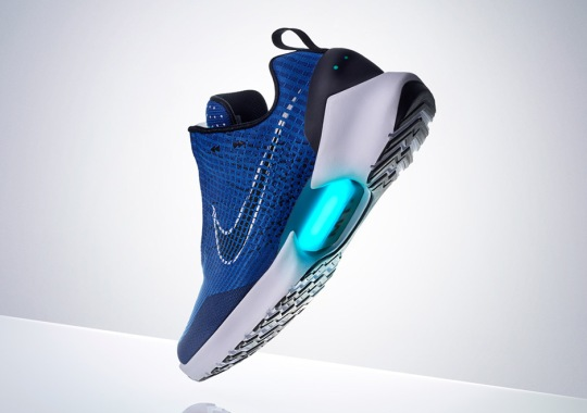 """The Nike HyperAdapt 1.0 """"Tinker Blue"""" Set For A Release This Thursday"""