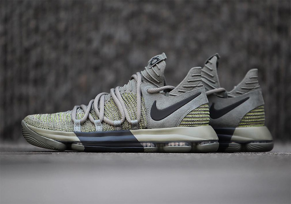 classic fit 44e07 41d8a Nike KD 10 Olive Black | SneakerNews.com