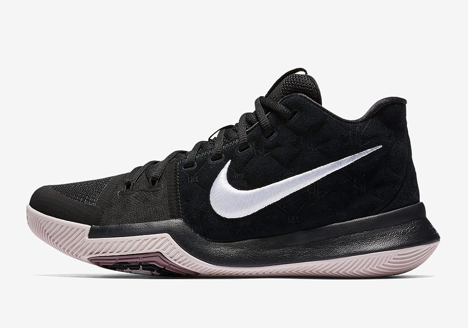 buy popular d9aca 10a81 Nike Kyrie 3. Release Date  October 20, 2017  120. Color  Black White-Silt  Red