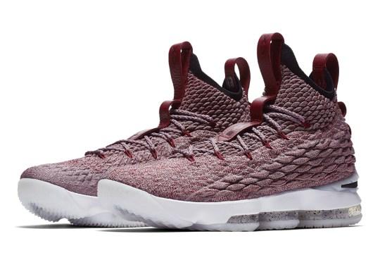 Nike LeBron 15 In Red Flyknit Appears