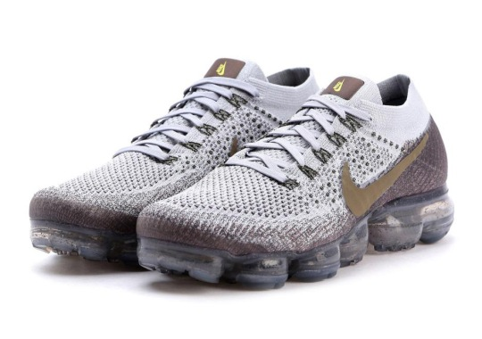 NikeLab Pairs Grey And Olive For The Vapormax