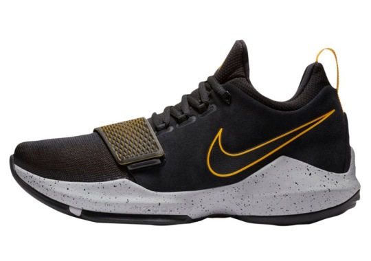 Paul George's Nike PG 1 Releasing In Black And University Gold