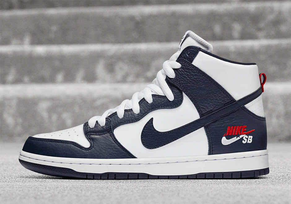 online store 56834 ffbe1 Nike SB Dunk High Dream Team Pack 854851-441 | SneakerNews.com