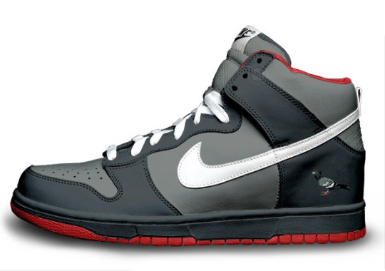 """Is The Nike SB Dunk High """"Pigeon"""" Releasing?"""