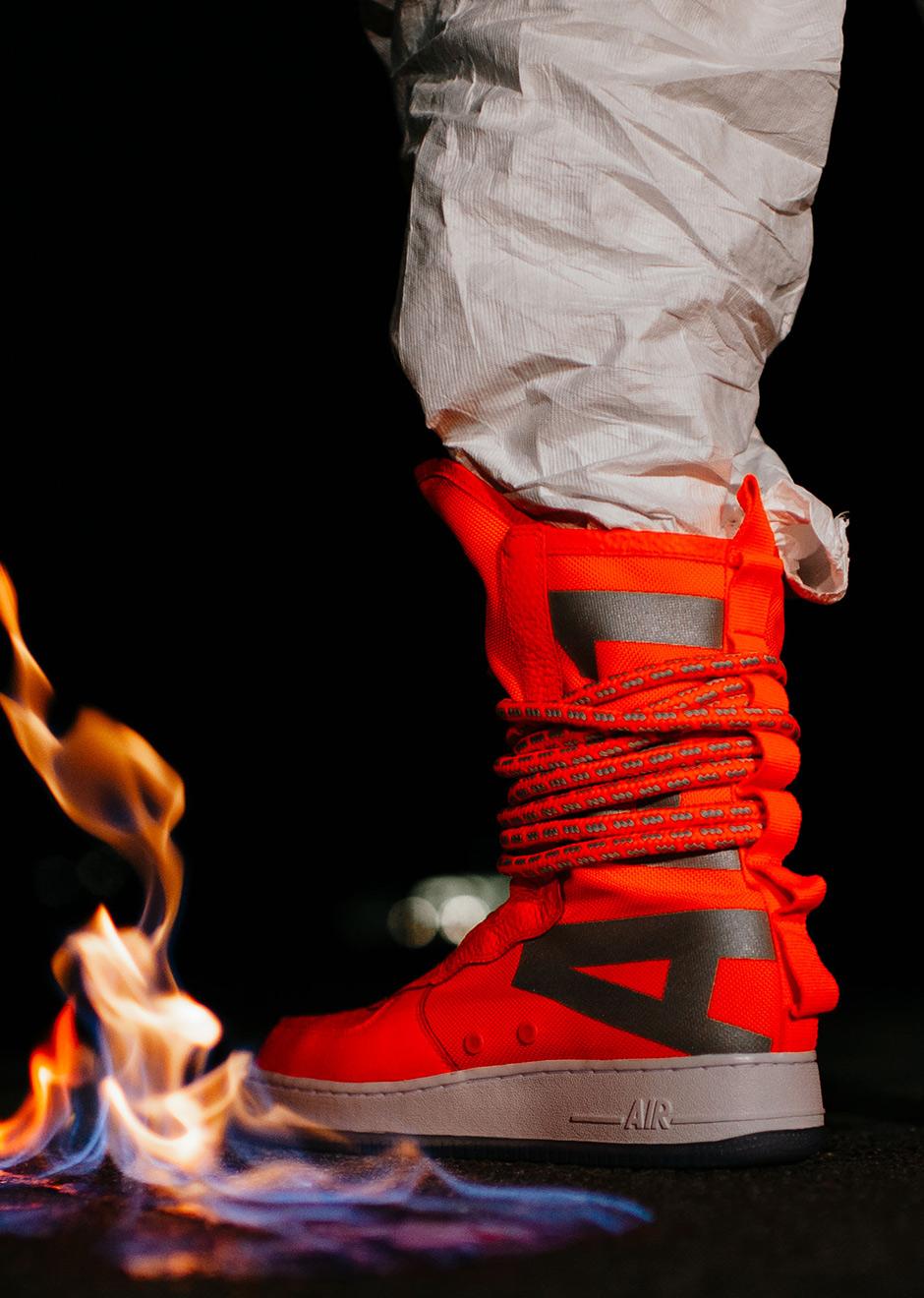 Nike SF AF1 High Total Orange AA1128 800 |