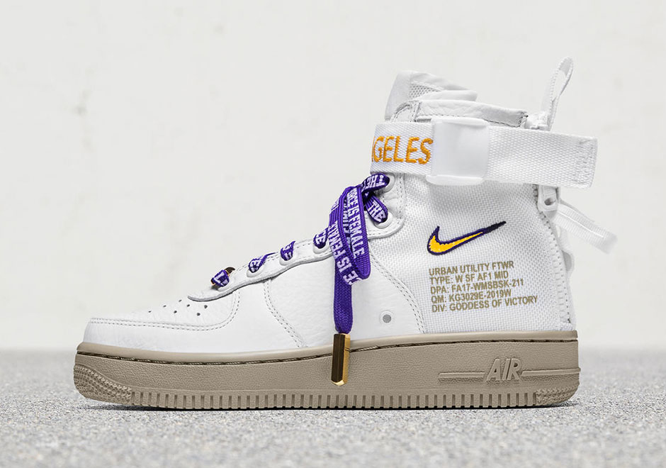Nike SF-AF1 Los Angeles Exclusive Release Info