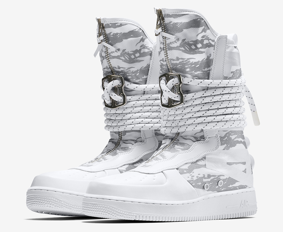 Nike SF-AF1 White Collection Coming In