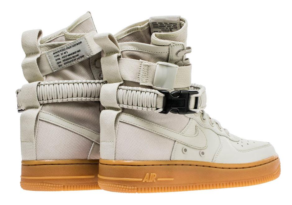 factory authentic 29390 aad1c Nike WMNS SF-AF1 Light Bone Gum 857872-004   SneakerNews.com