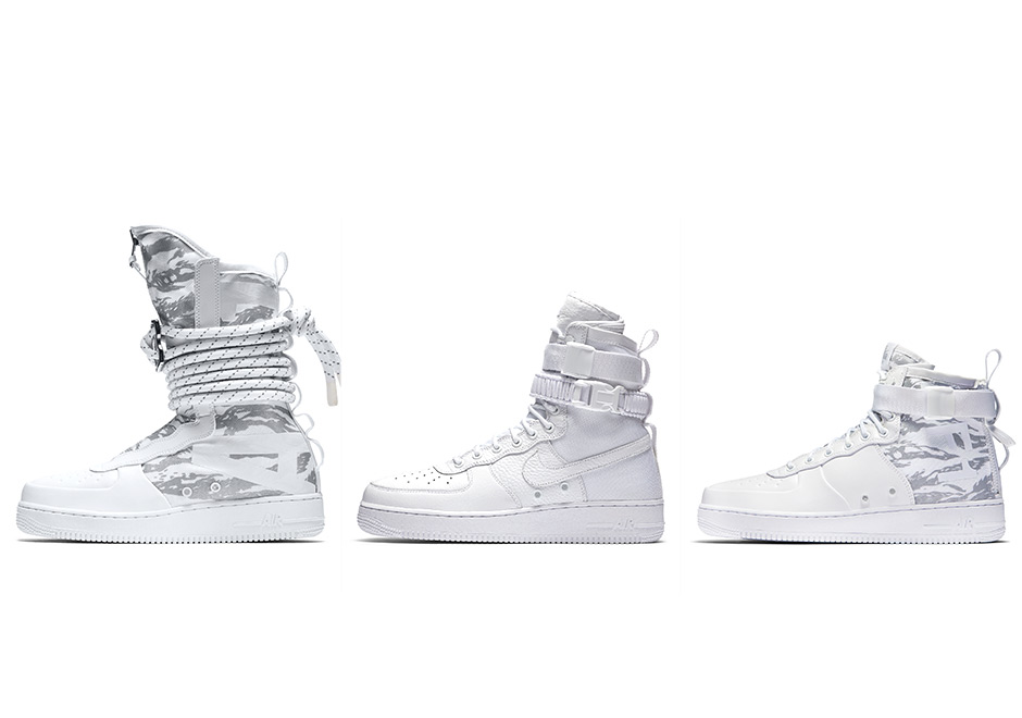 Nike SF AF1 White Collection Coming In November