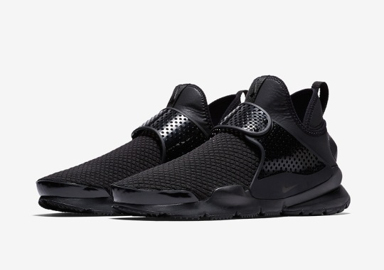quality design d752a 57144 The Nike Sock Dart Mid Goes Triple Black