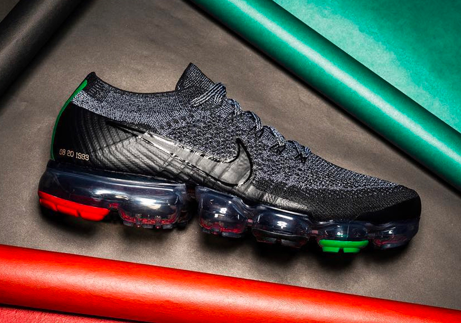 94142e239aaaf Nike VaporMax BHM Black History Month 2018 First Look