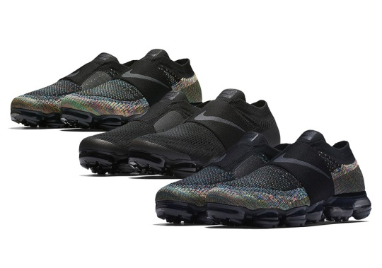 Multi-Color And Triple Black Coming To The Nike Vapormax Moc