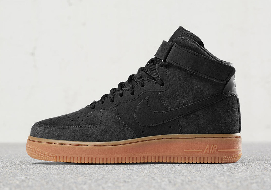 Nike Sportswear continues the tonal suede upper and gum sole formula for  the women s Air Force 1 this fall 22c838268b