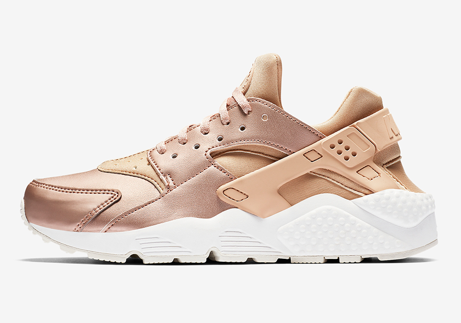 3f4cb1ffde1b Nike WMNS Air Huarache Run Premium  130. Color  Elm Metallic Red  Bronze-Summit White