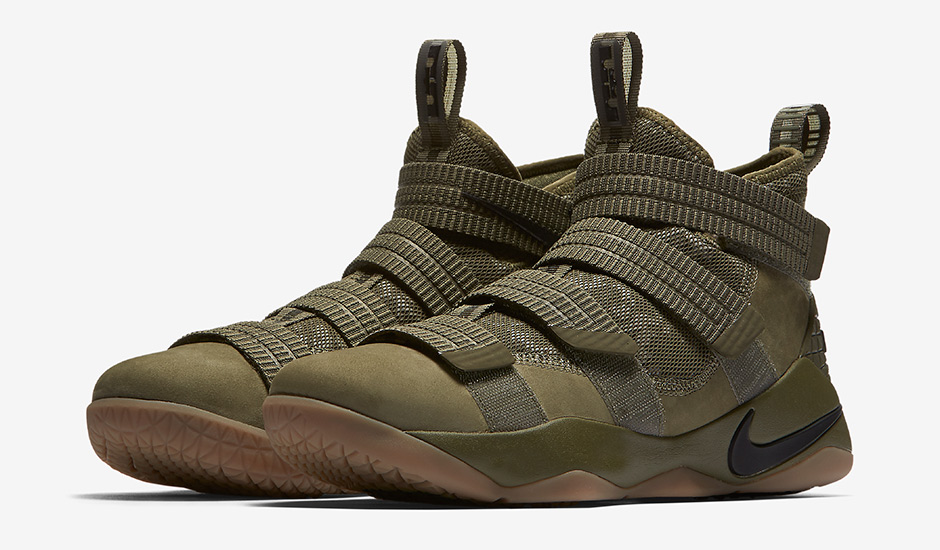 "68a35a637c6a This ""Olive Camo"" LeBron Soldier 11 perfectly represents the  military-inspired workout regimen Erik Spoelstra instilled at the first  mini-camp of the ..."