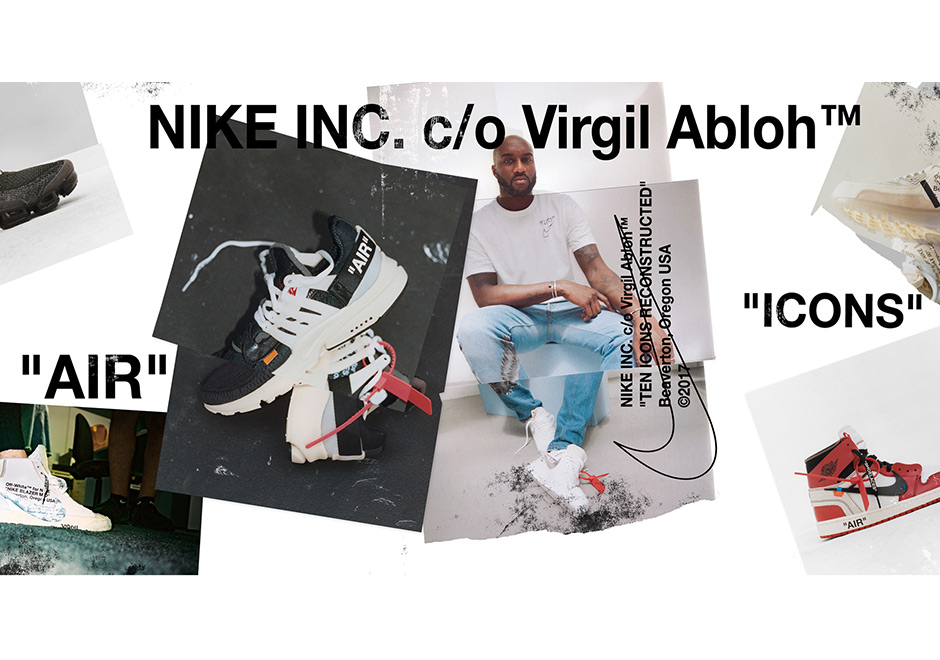 "a939a80b3402 Official Raffle Schedule For The OFF WHITE x Nike ""The Ten"" Collection"