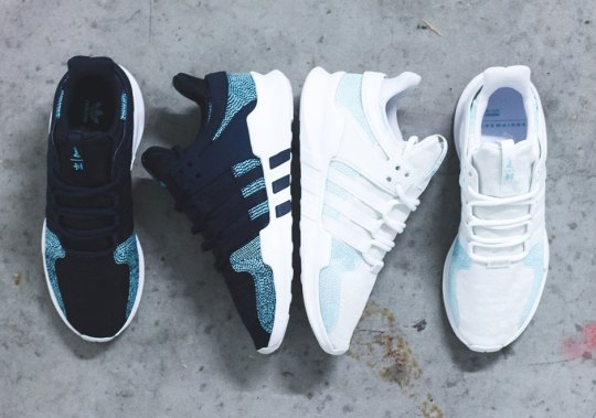 The Parley For The Oceans x adidas EQT Support ADV Comes In Two Colorways