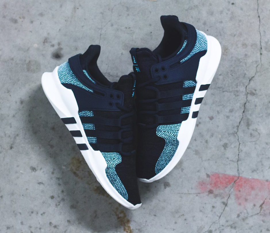 sneakers for cheap 8ca45 0d808 Parley x adidas EQT Suppport ADV 9116. Release Date October 14, 2017  200. Color NavyIcey Blue