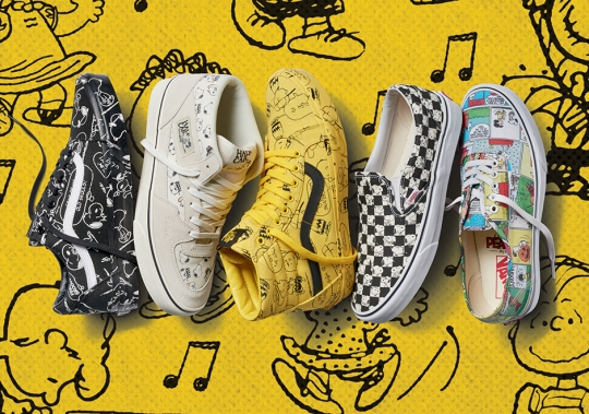 Vans Presents Latest Peanuts Collection For Fall 2017 With Footwear and Apparel For The Whole Family