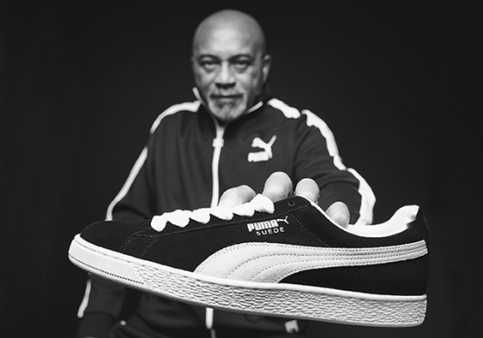 Puma Announces Suede 50th Anniversary Campaign With Track Legend Tommie Smith