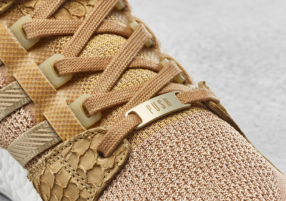 cheaper ab401 b4ecf Pusha T adidas EQT Support Ultra Brown Bodega Babies ...