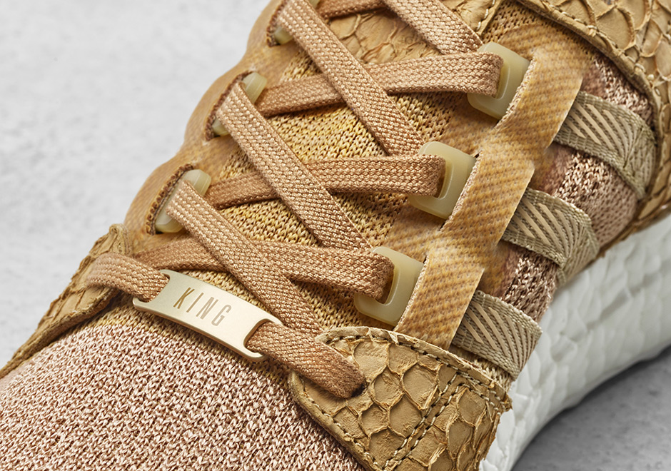 classic fit a4319 86f82 Pusha T adidas EQT Support Ultra Brown Bodega Babies  Sneake