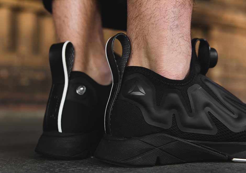 "The second edition of the ""Triple Black"" Reebok Pump Supreme is arriving  now at select retailers around the globe. e37ab843a"