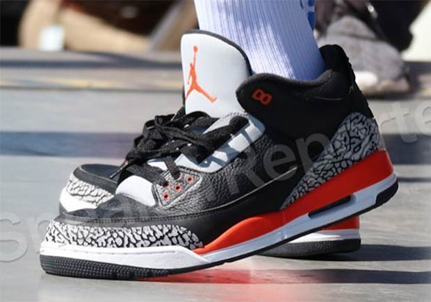 no nike air jordan 3 black cement
