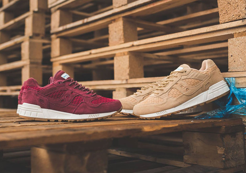 6d15987dca27 Saucony is back once again with two new additions to their Shadow 5000  family with these new woven upper renditions. Both new offerings feature  tonal suede ...