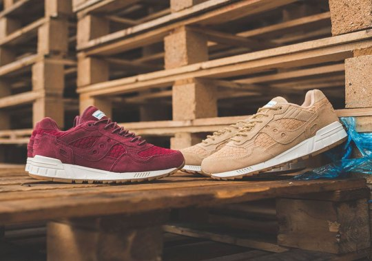 The Saucony Shadow 5000 Gets Suede Woven Uppers