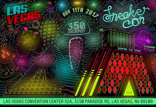 Sneaker Con Heads To Las Vegas For The First Time On November 11th